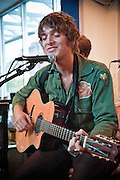 Paolo Nutini performs at Waterloo Records, Austin Texas, September 4, 2009. Paolo Giovanni Nutini (born 8 January 1987) is a singer/songwriter from Paisley Scotland.  Waterloo Records is an independent record store in Austin Texas.