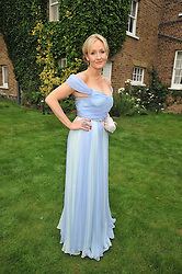 JK ROWLING at the Raisa Gorbachev Foundation fourth annual fundraising gala dinner held at Stud House, Hampton Court, Surrey on 6th June 2009.