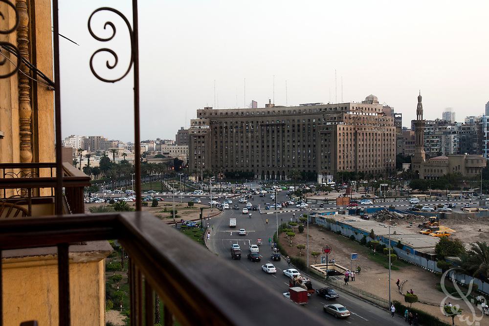 The civic Mogamma building in Tahrir Square in central Cairo September 26, 2011. The building, which houses numerous government offices, is viewed as a corner stone of Egyptian bureaucracy.  (Photo by Scott Nelson)