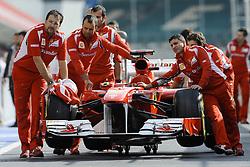 07.07.2011, Silverstone Circuit, Silverstone, GBR, F1, Großer Preis von Großbritannien, Silverstone, im Bild Scuderia Ferrari    EXPA Pictures © 2011, PhotoCredit: EXPA/ nph/  Dieter Mathis       ****** out of GER / CRO  / BEL ******