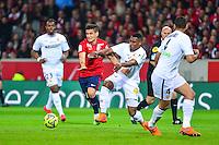 Marco MESQUITA LOPES / Loick LANDRE - 03.02.2015 - Lille / Lens - 35eme journee de Ligue 1<br />Photo : Dave Winter / Icon Sport