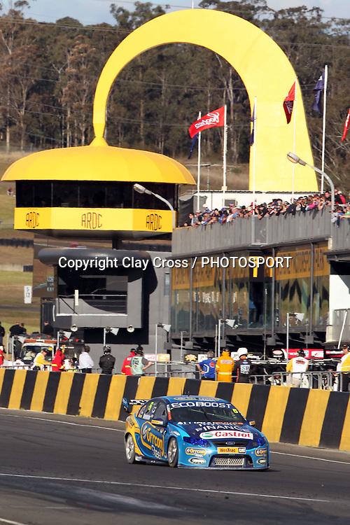 Mark Winterbottom ()Ford Performance Racing. Sydney Motorsport Park 360 ~ Race 19 2012 V8 Supercar Championship Series. Sydney Motorsport Park, Sydney on Sunday 26 August 2012. Photo: Clay Cross / photosport.co.nz