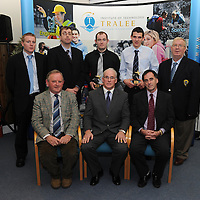 Kerry students Back L-R  Eamon Fitzgerald, Pat McTigue, Paul O Sullivan, Michael Brennan, Willie O Connor . Front L-R Flan Garvey, Sean Walsh, Michael Carmody.<br /> Institute of Technology, Tralee Announces Sports Scholarships for 2010/2011 .Thirty six of the countryÕs best young sports stars have been awarded Sports Scholarships by the Institute of Technology, Tralee (IT, Tralee) for 2010/2011 it was revealed at last nightÕs awards ceremony held at the InstituteÕs North Campus.<br /> Photo By : Domnick Walsh / Eye Focus LTD © <br /> Tralee Co Kerry Ireland <br /> Phone  Mobile 087 / 2672033<br /> L/Line 066 71 22 981 <br /> E/mail - domnickwalsh@eircom.net <br />        www.dwalshphoto.com<br /> Kerry students Back L-R  Eamon Fitzgerald, Pat McTigue, Paul O Sullivan, Michael Brennan, Willie O Connor . Front L-R Flan Garvey, Sean Walsh, Michael Carmody.<br /> Institute of Technology, Tralee Announces Sports Scholarships for 2010/2011 .Thirty six of the country's best young sports stars have been awarded Sports Scholarships by the Institute of Technology, Tralee (IT, Tralee) for 2010/2011 it was revealed at last night's awards ceremony held at the Institute's North Campus.<br /> Photo By : Domnick Walsh / Eye Focus LTD © <br /> Tralee Co Kerry Ireland <br /> Phone  Mobile 087 / 2672033<br /> L/Line 066 71 22 981 <br /> E/mail - domnickwalsh@eircom.net <br />        www.dwalshphoto.com