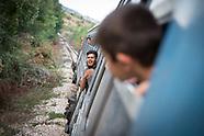 Refugee train Macedonia, 19.08.15