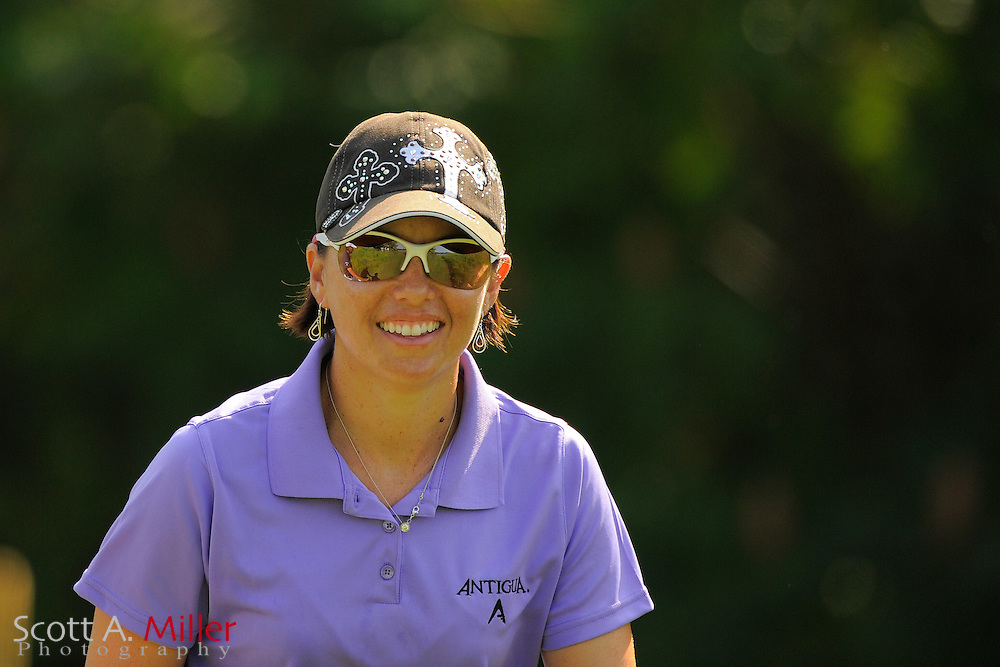 Stacy Prammanasudh during the first round for the US Women's Open at Blackwolf Run on July 5, 2012 in Kohler, Wisconsin. ..©2012 Scott A. Miller