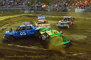 Destruction Derby Mariposa Fair 2015