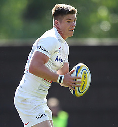 Saracens Owen Farrell - Photo mandatory by-line: Robbie Stephenson/JMP - Mobile: 07966 386802 - 16/05/2015 - SPORT - Rugby - Oxford - Kassam Stadium - London Welsh v Saracens - Aviva Premiership