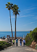 Pedestrian Path at Montage Resort in Laguna Beach