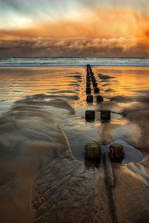 Groins at Aberdeen Beach