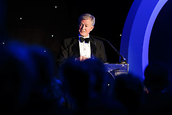 Bristol Sport chairman Martin Griffiths takes to the stage at Bristol Sport's Annual Gala Dinner at Ashton Gate Stadium - Mandatory byline: Rogan Thomson/JMP - 08/12/2015 - SPORT - Ashton Gate Stadium - Bristol, England.