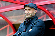 Exeter City manager Paul Tisdale during the EFL Sky Bet League 2 match between Exeter City and Swindon Town at St James' Park, Exeter, England on 24 March 2018. Picture by Graham Hunt.