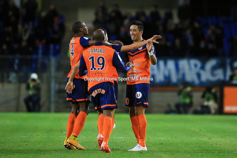 joie Lucas BARRIOS  - 24.01.2015 - Montpellier / Nantes  - 22eme journee de Ligue1<br />Photo : Nicolas Guyonnet / Icon Sport