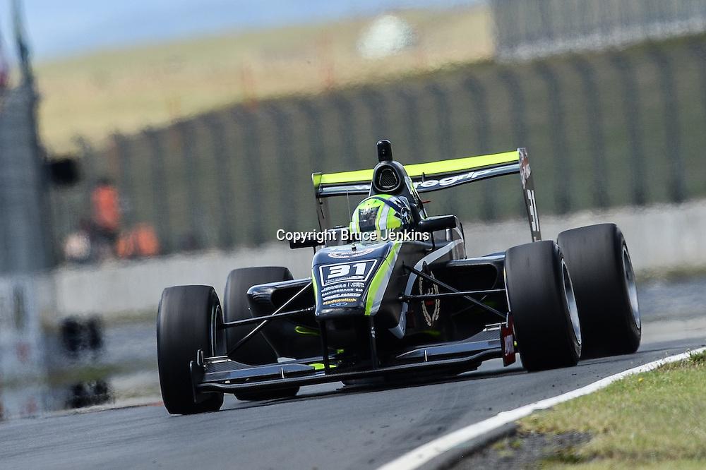 Lando Norris, race winner, Round 3 Hampton Downs January 30 2016