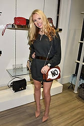 Naomi Isted at a party to launch Ashley Robert's new footwear range Allyn held ay Larizia, 74 St.John's Wood High Street, London England. 8 February 2017.
