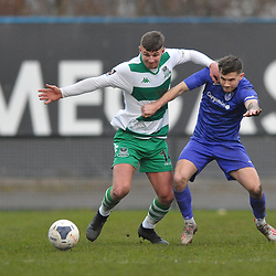 TELFORD COPYRIGHT MIKE SHERIDAN  during the Vanarama Conference North fixture between AFC Telford United and Farsley Celtic at The Citadel on Saturday, January 25, 2020.<br /> <br /> Picture credit: Mike Sheridan/Ultrapress<br /> <br /> MS201920-042