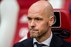21-01-2018 NED: AFC Ajax - Feyenoord, Amsterdam<br /> Ajax was met 2-0 te sterk voor Feyenoord / Coach Erik ten Hag