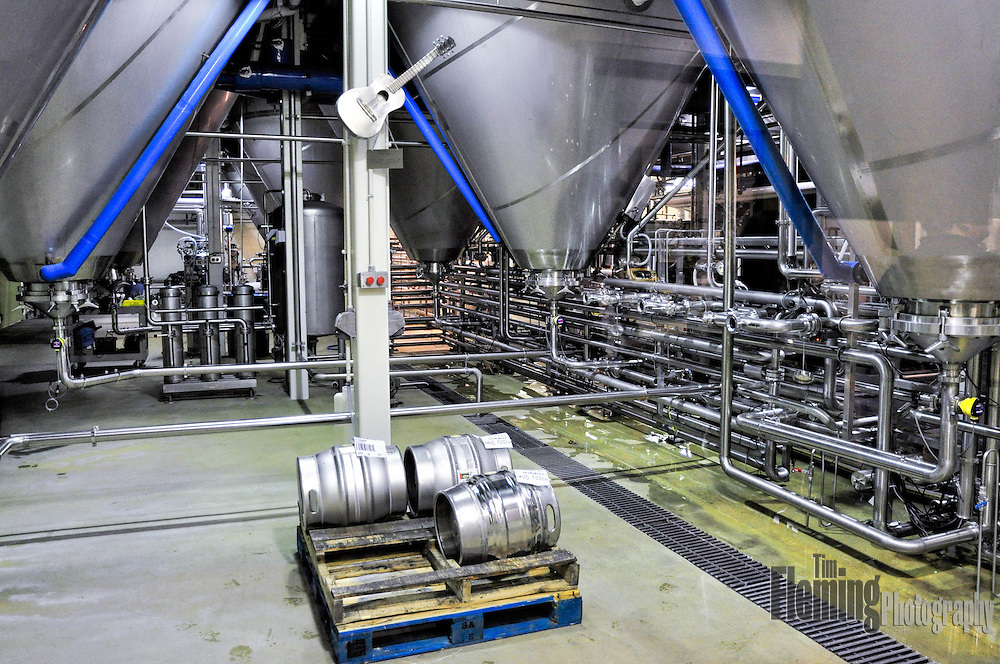 Interior view of New Belgium Brewing Company
