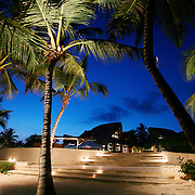 Cap Cana, Dominican Republic - April 12: The Caleton Beach Club is seen under evening skies at Cap Cana, in the Dominican Republic, April 12, 2007.