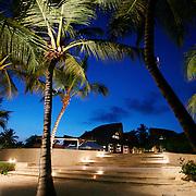 Cap Cana, Dominican Republic - April 12: The Caleton Beach Club is seen under evening skies at Cap Cana, in the Dominican Republic, April 12, 2007.