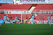 Coventry city's David McGoldrick (31 3rd left) scores his sides 2nd goal.  NPower league one, Swindon Town v Coventry city at the County Ground in Swindon on Saturday 13th October 2012.  pic by  Andrew Orchard, Andrew Orchard sports photography,