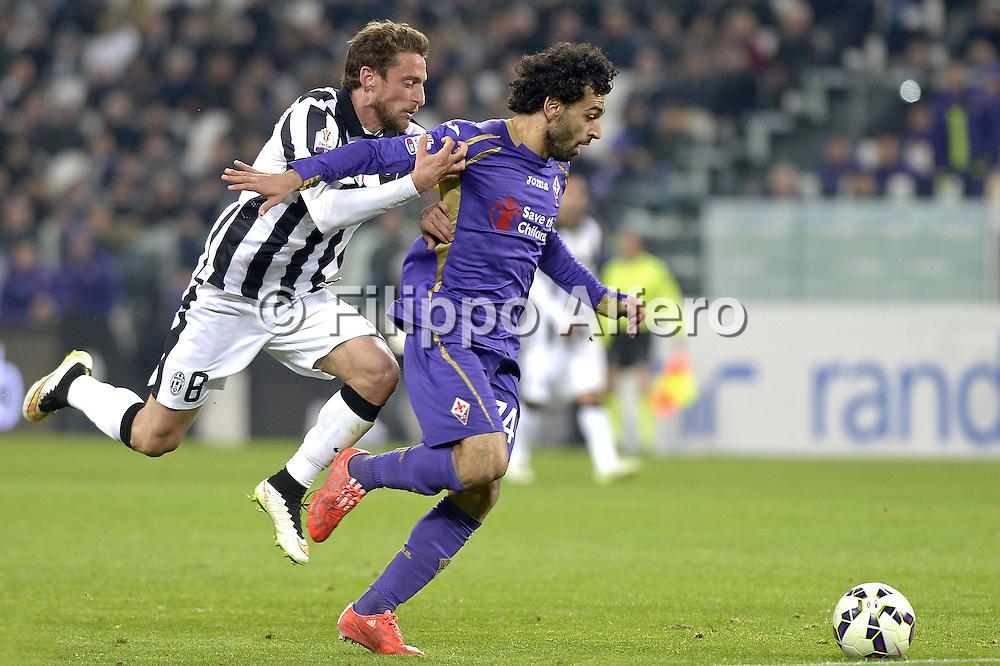 &copy; Filippo Alfero<br /> Juventus-Fiorentina, Semifinale Coppa Italia 2014/2015<br /> Torino, 05/03/2015<br /> sport calcio<br /> Nella foto: