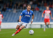 Ben Davies during the Sky Bet League 2 match between Portsmouth and Accrington Stanley at Fratton Park, Portsmouth, England on 5 September 2015. Photo by Adam Rivers.