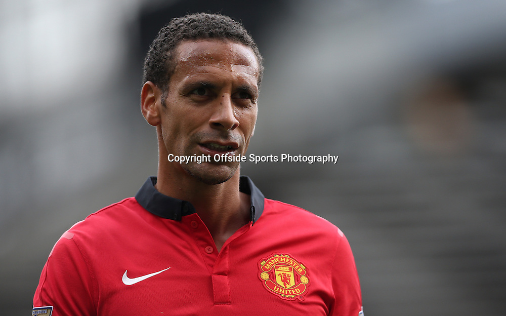 14th September 2013 - Barclays Premier League - Manchester United v Crystal Palace - Rio Ferdinand of Man Utd - Photo: Simon Stacpoole / Offside.