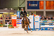 Willem Greve - Haines GH<br /> Finale Blom Hengstencompetitie Springen 2016/2017<br /> KWPN Hengstenkeuring 2017<br /> © DigiShots