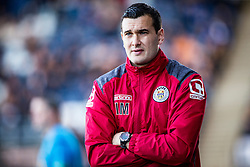 St Mirren&rsquo;s manager Iain Murray. <br /> Falkirk 3 v 0 St Mirren. Scottish Championship game played 21/10/2015 at The Falkirk Stadium.