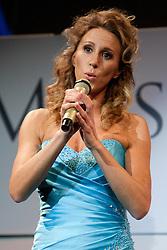 Julija Kramar during event Miss Sports of Slovenia 2012, on April 21, 2012, in Festivalna dvorana, Ljubljana, Slovenia. (Photo by Urban Urbanc / Sportida.com)