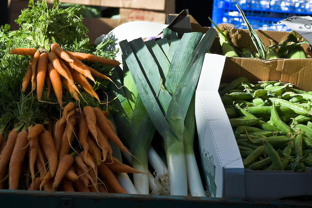 Farmers market, Keswick, Borrowdale, Lake District, Cumbria, UK