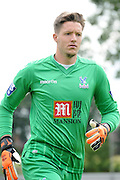 Wayne Hennessey in action during the U21 Professional Development League match between U21 Crystal Palace and U21 Bolton Wanderers at Selhurst Park, London, England on 17 August 2015. Photo by Michael Hulf.