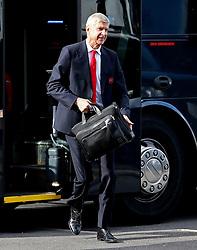 Arsenal manager Arsene Wenger arrives at Turf Moor with briefcase - Mandatory by-line: Matt McNulty/JMP - 02/10/2016 - FOOTBALL - Turf Moor - Burnley, England - Burnley v Arsenal - Premier League