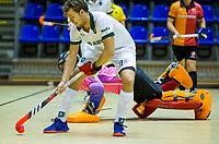 ROTTERDAM -   Oranje Rood-Rotterdam, ,hoofdklasse competitie  zaalhockey.   COPYRIGHT  KOEN SUYK
