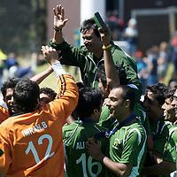 MELBOURNE - Champions Trophy men 2012<br /> India v Pakistan<br /> foto: Pakistan wins third place.<br /> FFU PRESS AGENCY COPYRIGHT FRANK UIJLENBROEK