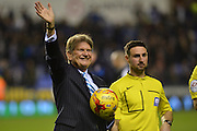 Sir John Madejski during the Sky Bet Championship match between Reading and Queens Park Rangers at the Madejski Stadium, Reading, England on 3 December 2015. Photo by Mark Davies.