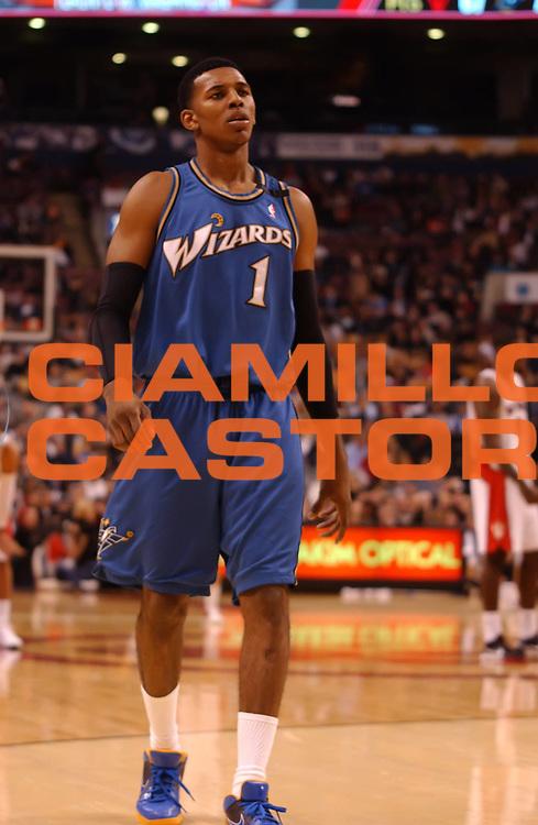 DESCRIZIONE : Toronto NBA 2009-2010 Toronto Raptors Washington Wizards<br /> GIOCATORE : Nick Young<br /> SQUADRA : Washington Wizard<br /> EVENTO : Campionato NBA 2009-2010 <br /> GARA : Toronto Raptors Washington Wizards<br /> DATA : 01/12/2009<br /> CATEGORIA :<br /> SPORT : Pallacanestro <br /> AUTORE : Agenzia Ciamillo-Castoria/V.Keslassy<br /> Galleria : NBA 2009-2010<br /> Fotonotizia : Toronto NBA 2009-2010 Toronto Raptors Washington Wizards<br /> Predefinita :