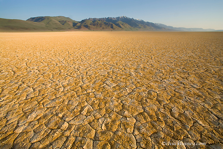 The Alvord Desert in Harney County, Oregon