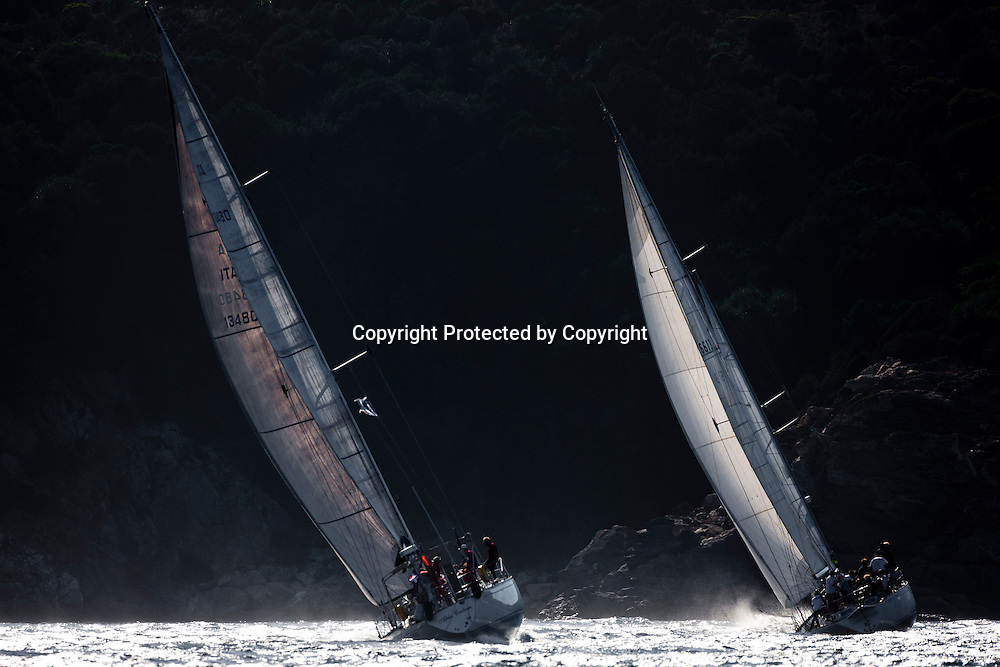 ALPHA CENTAURI, Sail n: -, Bow n: 006, Owner: Bruno Chardon, Model: Swan 57, Class: C<br /> SCARAMOUCHE, Sail n: FRA6618, Bow n: 058, Owner: Milhat Saurdille P. /  Decarcdix P., Model: swan 57, Class: C