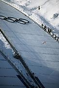 Ski Jumping, Ski Jump, Ski Jumper, Sporting Event, 2002 Winter Olympics, Winter Olympics, Olympics, Park City, Utah