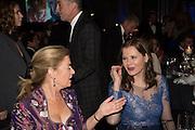 LADY JENNIFER STRINGER;  GEENA DAVIS;; , Luminous -Celebrating British Film and British Film Talent,  BFI gala dinner & auction. Guildhall. City of London. 6 October 2015.