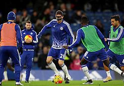 Nemanja Matic of Chelsea warms up - Mandatory byline: Robbie Stephenson/JMP - 05/12/2015 - Football - Stamford Bridge - London, England - Chelsea v AFC Bournemouth - Barclays Premier League
