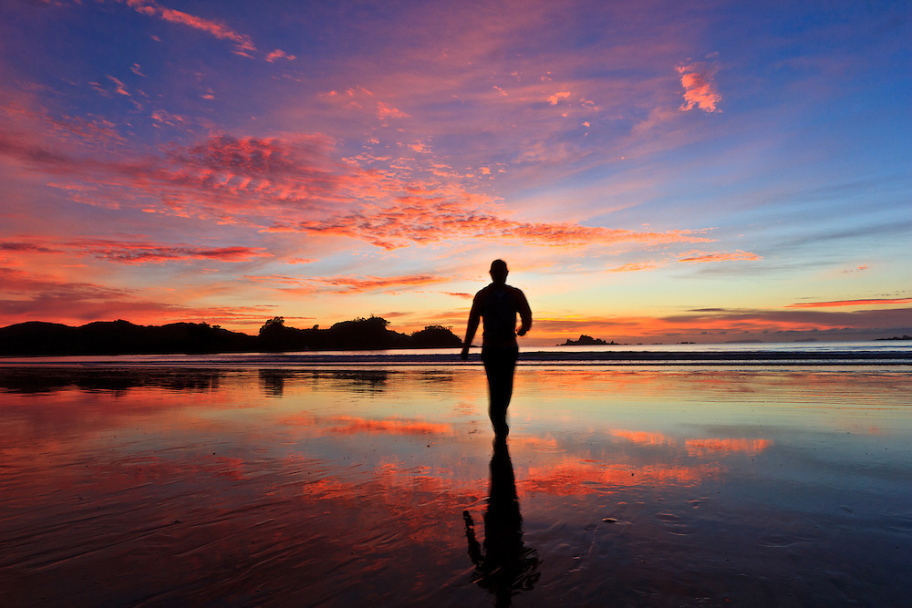 """The Maori word Oakura is said by the local Maori Elders to refer to the phenomenon of the """"AO-A-KURA"""" which means """"the light - that comes with - the red sky"""" as experienced at sunrise and sunset."""