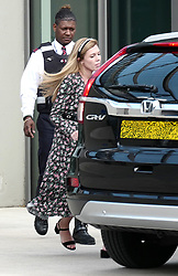 EXCLUSIVE: **NO WEB UNTIL 3pm GMT** Carrie Symonds seen at the U.S. embassy in south west London today. 21 Aug 2019 Pictured: Carrie Symonds. Photo credit: W8Media / MEGA TheMegaAgency.com +1 888 505 6342