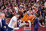Tifosi Umana Reyer Venezia, Gianmarco Pozzecco<br /> Umana Reyer Venezia - Banco di Sardegna Dinamo Sassari<br /> Legabasket LBA Serie A Postemobile 2018-2019 Finale Playoff Gara 7<br /> Sassari, 22/06/2019<br /> Foto L.Canu - Ciamillo-Castoria