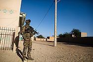 French troops patrol Timbuktu after taking the city back from Islamic militants on Jan. 30, 2013.