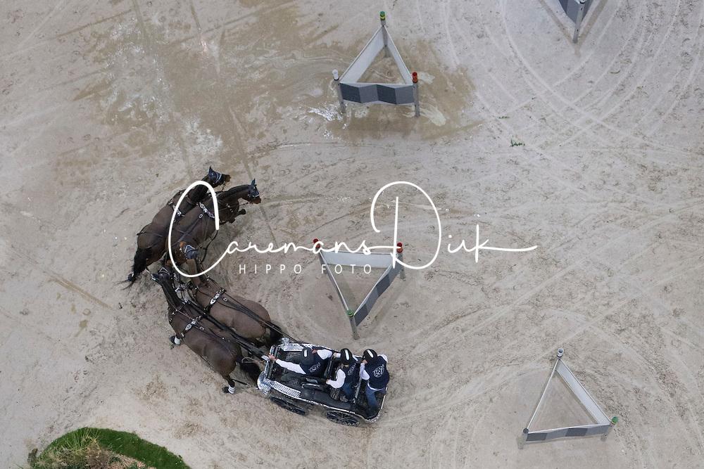 Exell Boyd (AUS) - Bajnok, Carrington Park Ajax, Lucky, Spitfire<br /> CAI-W Geneve 2012<br /> &copy; Dirk Caremans