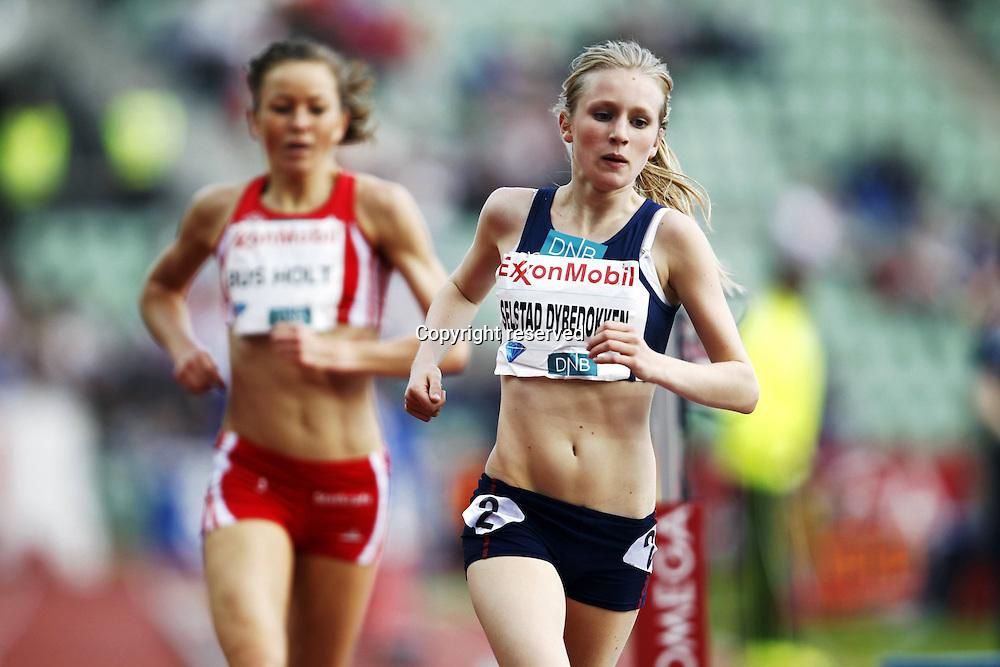 07.06.2012. Paris, France.   Diamond League Bislett Games Dybedokken  NOR 1500 metres  Athletics
