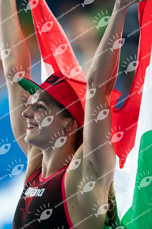 HOSSZU Katinka HUN gold medal<br /> swimming<br /> Women's 400m individual medley final<br /> day 17 30/07/2017 <br /> XVII FINA World Championships Aquatics<br /> Photo &copy; Giorgio Perottino/Deepbluemedia/Insidefoto