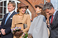 Samso, 18-03-2015<br /> <br /> King Willem-Alexander and Queen Maxima  visit the Island of Samso<br /> <br /> <br /> Photo: Bernard Ruebsamen/Royalportraits Europe